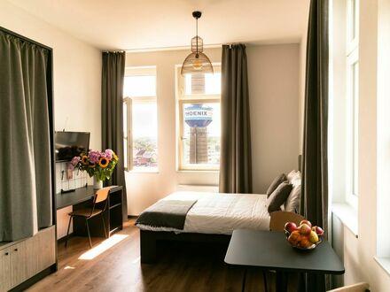 Möbliertes, helles Apartment oberste Etage 20qm