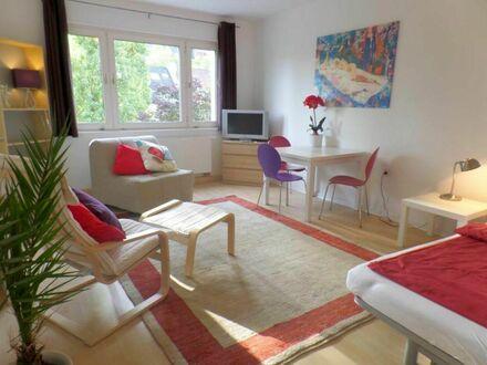 Gemütliches helles Apartment mit Blick auf den Garten