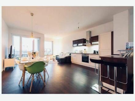 Neubau im Zentrum: 3-Zimmer Luxus Whg. in stilvollem Design Volkspark Friedrichshain Fußbodenheizung / Lift / Terrasse/…