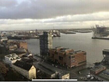 City-Apartment mit Traum-Blick auf Hamburg