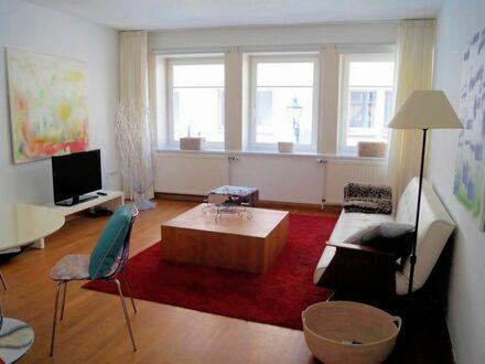 Helles Apartment im Zentrum Hannovers mit großem Balkon