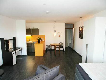 Studio-Apartment mit viel Sonne und Blick ins Grüne