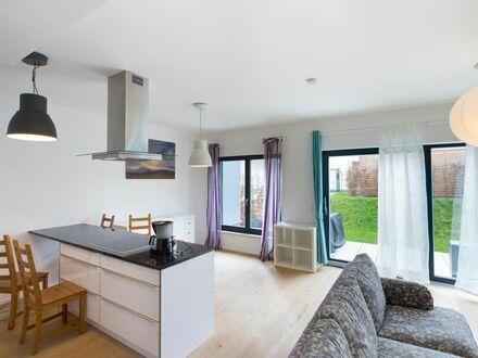 Vollmöbilierte 2-Zimmer Wohnung mit Garten in Friedrichshain-Kreuzberg