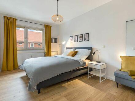 Stilvolle 2-Zimmerwohnung in Kiel-Südfriedhof – vollständig möbliert
