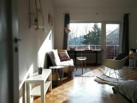 Gemütliche Wohnung mit Balkon in ruhiger Wohnlage im Hamburger Osten