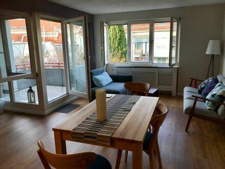 ruhige 1,5 Zimmer-Wohnung mit Terrasse in Stadtmitte Esslingen