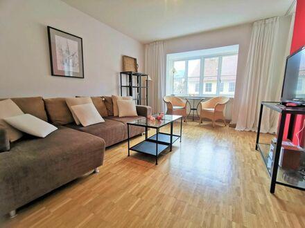 Modernes City-Apartment mit offener Grundrissgestaltung
