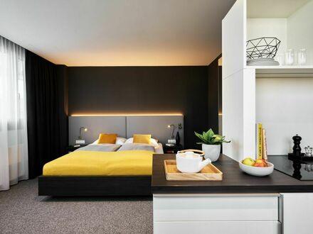 Schönes Apartment mit Doppelbett am Olympiazentrum