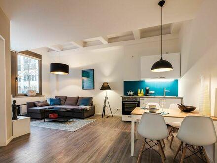 Charmantes und feinstes 2-Zimmer-Loft Apartment in ruhiger Gegend