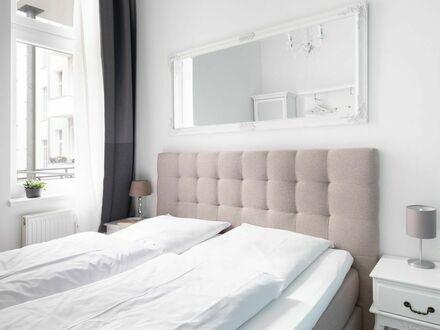 Apartment SC_6, 3 Schlafzimmer,1 Wohnzimmer, 2 Bäder, Boxspringbett, WLAN/ WiFi, Waschmaschine, Trockner, Balkon