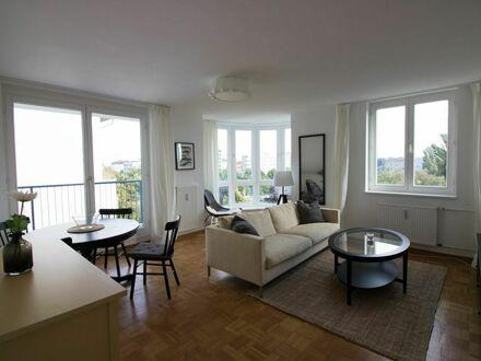 Hochwertige möblierte 3-Zimmer-Wohnung nahe dem Bergmannkiez - ruhig gelegen
