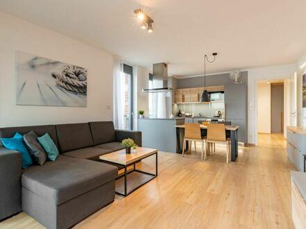 2-Zimmer Apartment - neu, modern, hell, hochwertig möbliert, zentrumsnah