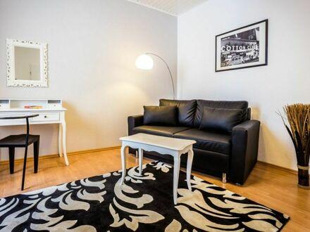 Stilvolle, helle Wohnung mit Balkon