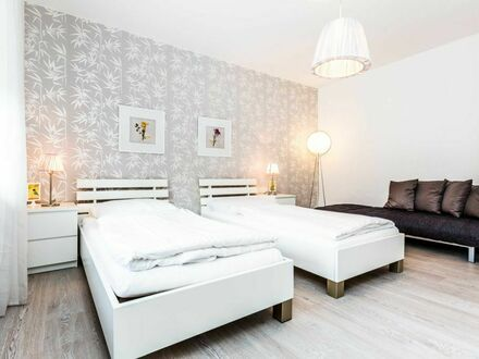 Modernes Apartment Deutz 3 km bis Köln Messe blank