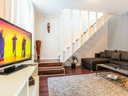 2 Zimmer Maisonette-Wohnung mit Dachterrasse