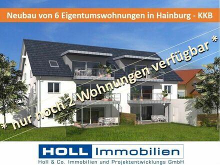 *** Neubau einer großzügigen 2-Zimmer-DG-ETW mit Südbalkon in Hainburg - KKB ***