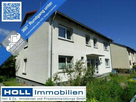 *** 2 Häuser unter einem Dach *** 2 Doppelhaushälften sowie 2 Garagen in Rodgau-Dudenhofen