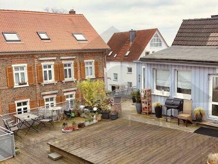 ***mieterfreie 1-ZW *** mit Dachterrasse und Blick auf Frankfurt