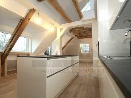 *VERMITTELT* Exklusive DG-Maisonette, mit Dachterrasse - EB in Bestlage