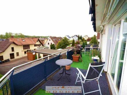 3 ZKB m. gr. Balkon in Flieden zu vermieten