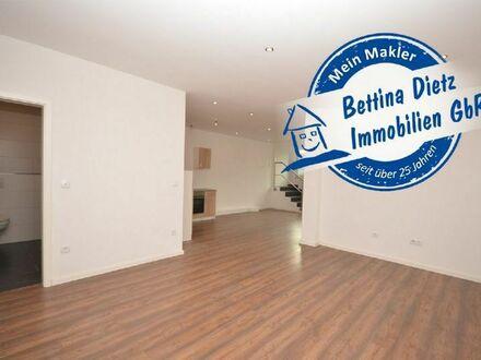 DIETZ: 2-Zimmer-Erdgeschosswohnung mit Einbauküche, Fußbodenheizung in Erlenbach