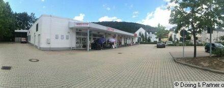 Lager Verkauf Handwerk im Zentrum der Stadt Berga Elster neben NETTO Markt und Schule