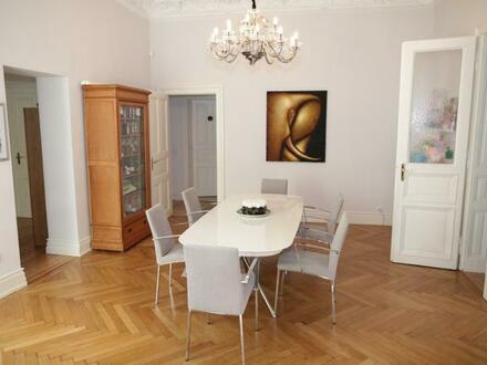 VERKAUFT!!! - MHI - Herrschaftliche, prachtvolle, vollständig sanierte Villenetage (Maisonette-Wohnung) mit Balkonen, 2 Stellplätzen…