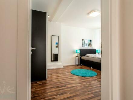 Ab Sofort - modernes und gemütliches Zimmer in 4er WG mitten im Bahnhofsviertel