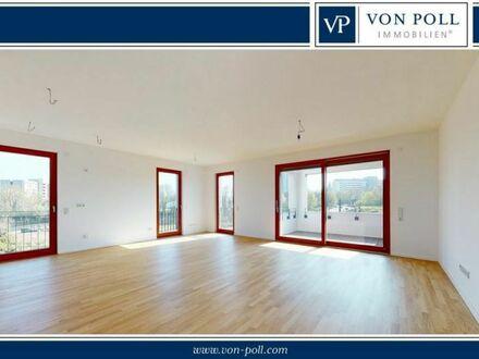 Repräsentative Vier-Zimmer-Wohnung mit Sonnenloggia