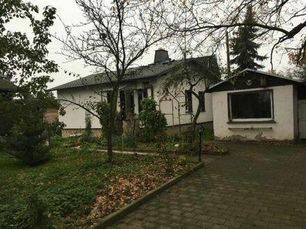 kleines Einfamilienhaus mit Gartengrundstück zur eigenen Nutzung in Pausa-Oberreichenau