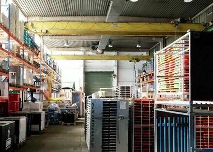 Lagerhalle mit Büro und vermietbarer Freifläche in 44793 Bochum