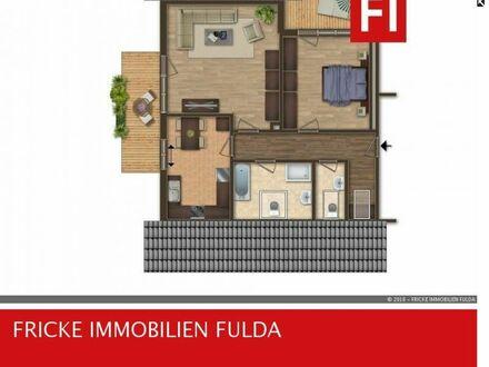 KÜNZELL - Bachrain - großzügig Wohnen im Dachgeschoß - 2 Balkone!