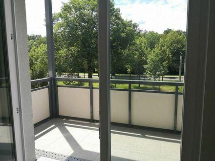 Neubau-barrierefrei m. Balkon mit Blick auf großen Garten-Familienfreundlich mit Kinderspielplatz