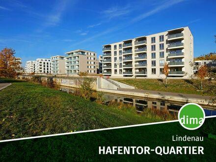NEUBAU | HAFENTOR-QUARTIER | TG-Stellplatz | off. Wohnküche | Loggia | HWR | Fußbodenheizung