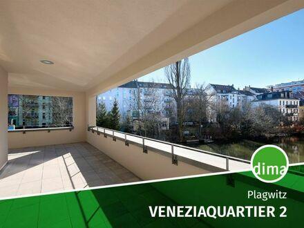 ERSTBEZUG | NEUBAU VENEZIAQUARTIER 2 | off. Wohnküche | Balkon | Tageslichtbad | Sauna | Stellplatz