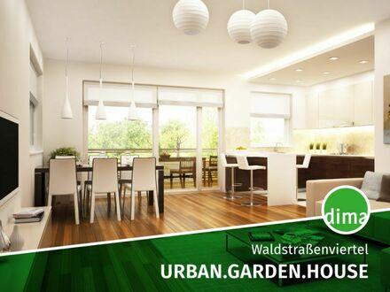 NEUBAU IM INNENHOF | Moderne 3-Raum-Wohnung mit Blick ins Grüne, Design-Bad, HWR, Tiefgarage u.v.m.