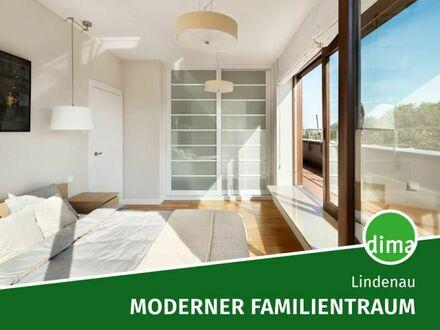 Großzügige, moderne Familienwohnung mit sonniger Terrasse + Loggia, 2 Bädern, Aufzug, Tiefg. u.v.m.!