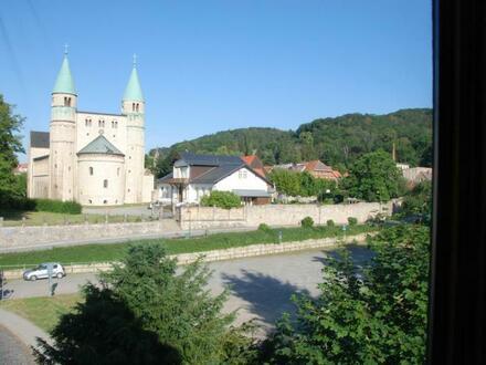 Helle Wohnung mit Blick auf Stiftskirche in Gernrode