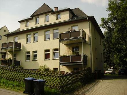+++idyllisch gelegene gemütliche Zweiraumwohnung mit Wanne und Dusche, Balkon und Abstellraum+++