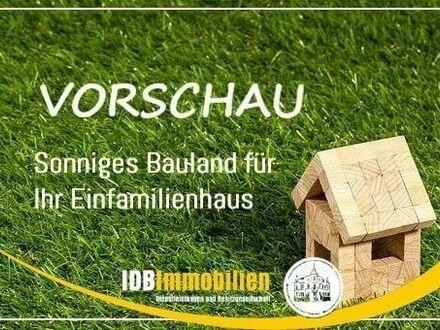 Bauland für ein Einfamilienhaus im Raum Freiberg i.Sachsen zu verkaufen.