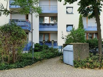 Einraumwohnung mit Terrasse und Garten Nutzung