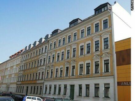 Schleußig, 2 Zimmer/Parkett/Wintergarten