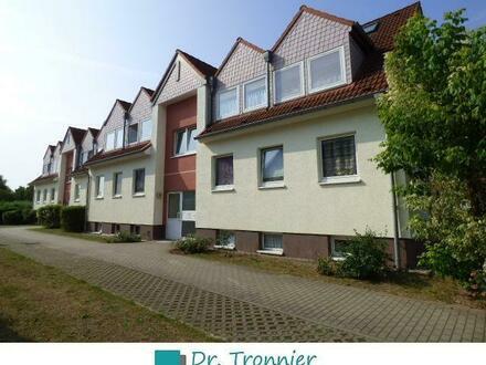 In Möser wohnen -3-Zimmer-Dachgeschoss-Wohnung, frei ab Mitte August