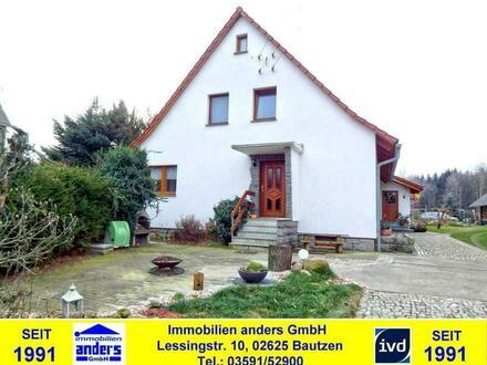 Moderne DHH mit Terrasse und Garage - Bad mit Wanne und Dusche - ruhige dörfliche Wohnlage - ca. 8 km südwestlich von Bautzen