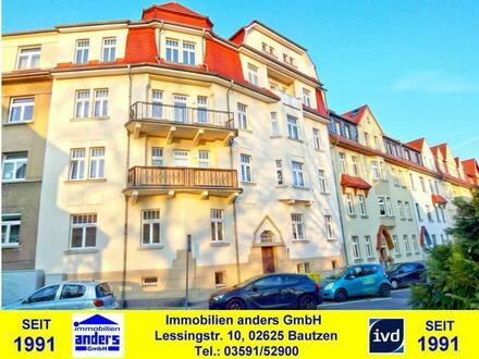 Moderne 2-Raum-Wohnung mit Balkon in Löbau