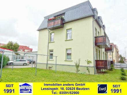 Moderne 2-Raum-Wohnung mit Balkon und PKW-Stellplatz in Bautzen