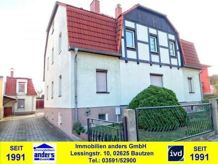 Modernes, voll unterkellertes EFH/ZFH mit überdachter Terrasse - Nebengelass - Garage in Bautzen