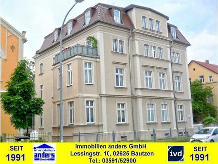 Moderne 4-Raum-Wohnung mit Loggia und Stellplatz in Bautzen