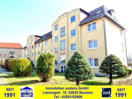Moderne 3-Raum-Wohnung mit Balkon u. Stellplatz in Löbau