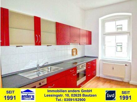 Moderne 2-Raum-Wohnung mit Einbauküche in Bautzen